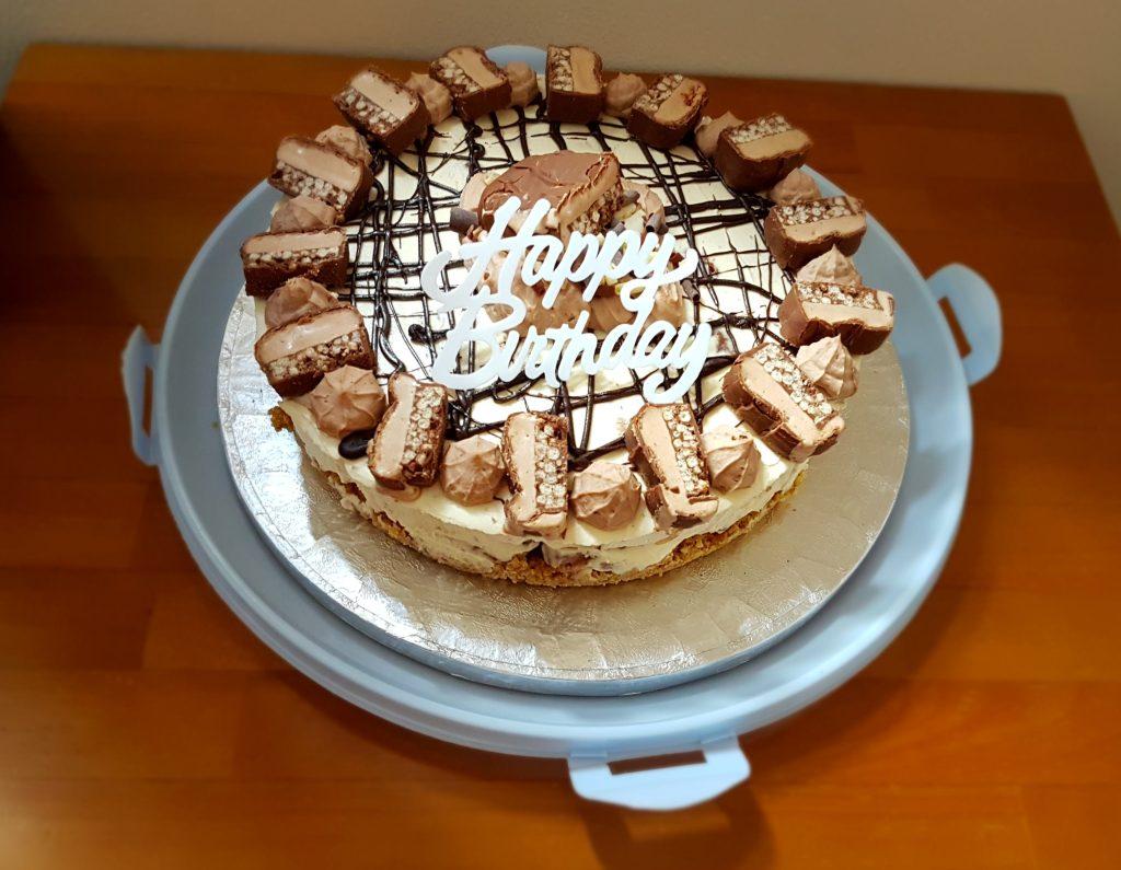 No bake Double Decker cheesecake