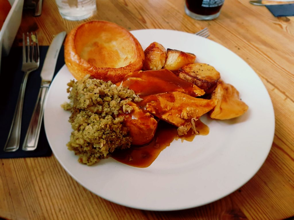 Sunday lunch at The Golden Farm, Cirencester