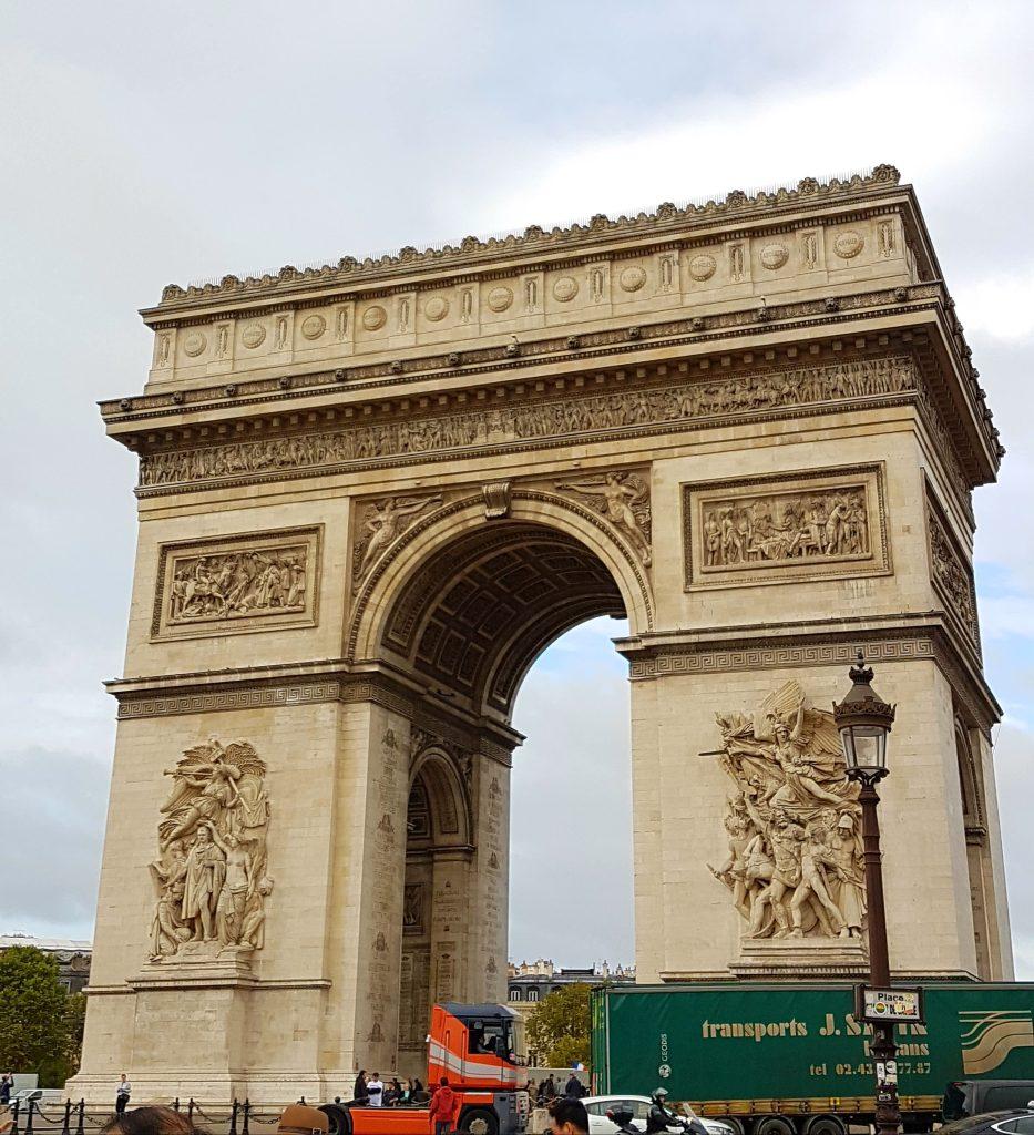Paris Trip - Day 4 - Arc De Triomphe and Notre Dame