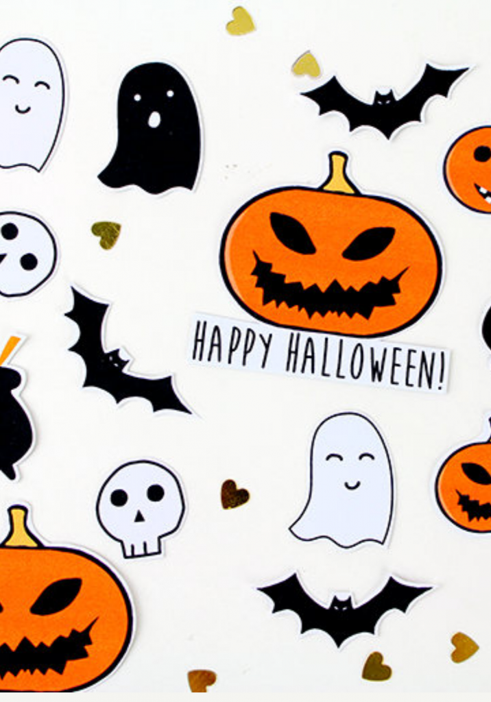 Halloween Stickers - Dorkface blog