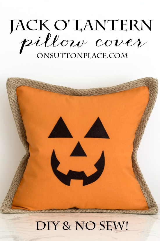 Pumpkin Pillow Cover - On Sutton Place