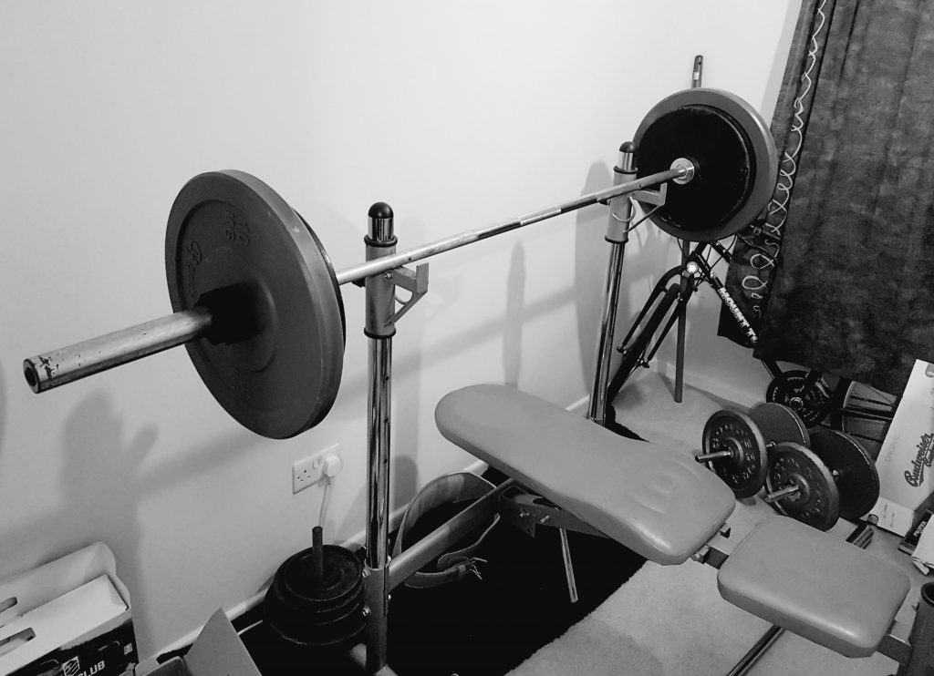 Creating our home gym