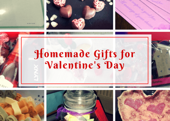 Gifts for Valentine's Day | Homemade
